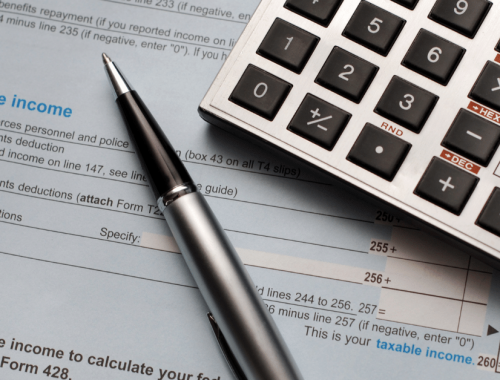filing income tax return in Canada during bankruptcy
